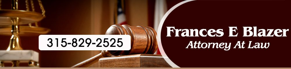 Attorney - Vernon, NY - Frances E Blazer Attorney At Law