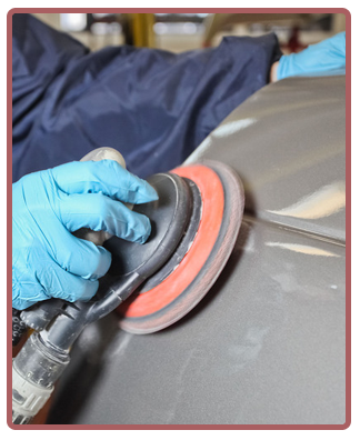 buffing of auto body