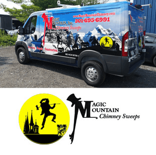 Magic Mountain Chimney Sweeps Van