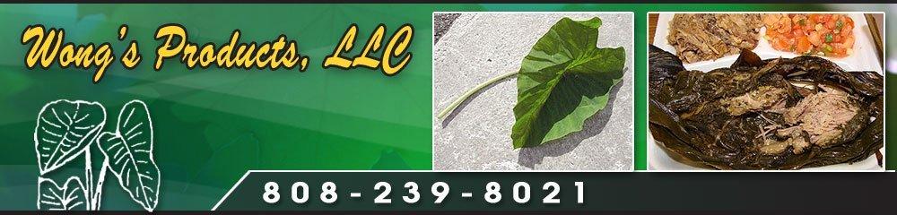 Food Products Oahu, HI - Wong's Products, LLC