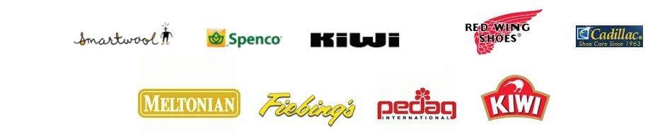 Smartwool, Wigwam, Spenco | Kiwi | Meltonian | Red Wing | Fiebings | Pedag | Pecard | Nor-V-gen | Cadillac