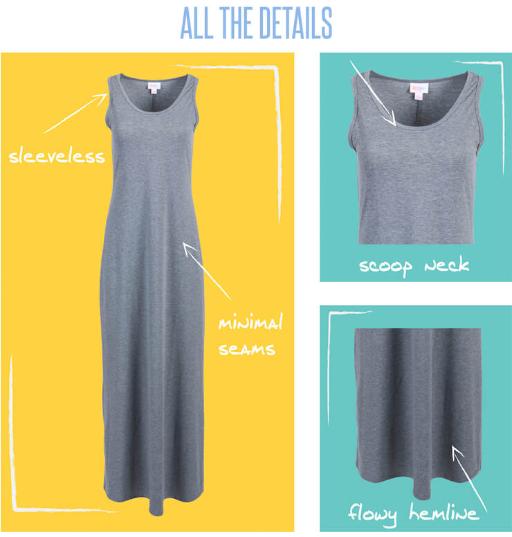 a2229ed9bc110 What to Wear With the LulaRoe Dani Dress