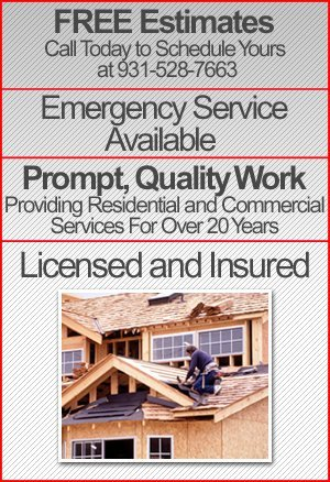 Roofing Services - Cookeville, TN - Putnam Roofing & Construction