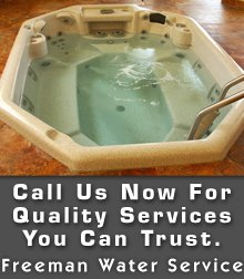Water Services - Bloomington, IN - Freeman Water Service