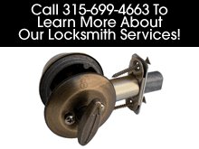 Locksmith - Cicero, NY - Steckel's Lock & Key - Call 315-699-4663 To Learn More About Our Locksmith Services!