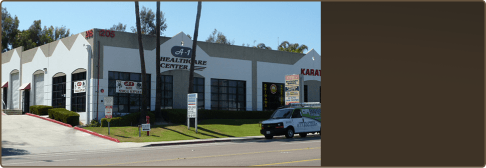 Healthcare supplies | Vista, CA | A-1 Healthcare Center | 760-945-4700