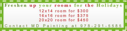 Paint - Gloucester, MA - MD Painting - coupon