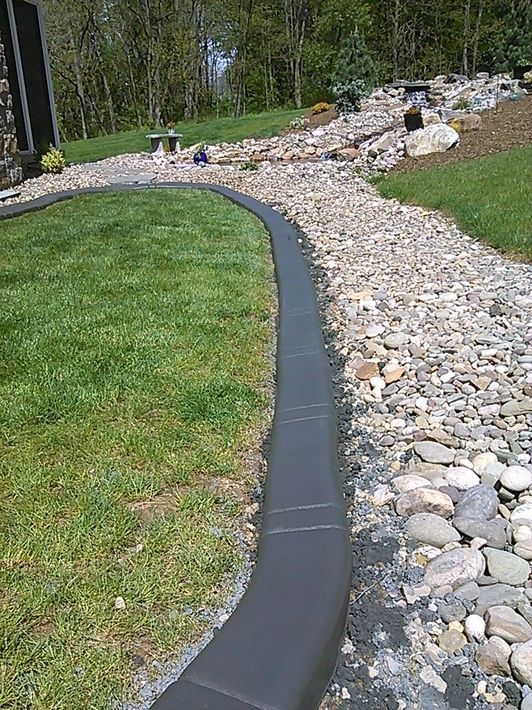 Quick Curb Borders Concrete Yard Borders Centre Hall Pa