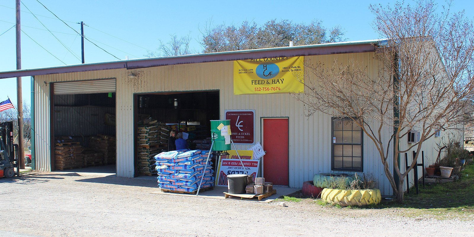 Hill Country Feed & Hay | Cattle Feed | Burnet, TX