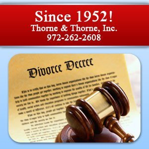 Legal Services - Grand Prairie, TX - Thorne & Thorne, Inc. - Since 1951! Thorne & Thorne, Inc. 972-262-2608