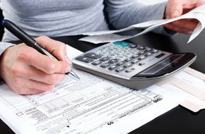 Filling the form 1040