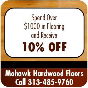 Hardwood Floor Installation - Taylor, MI - Mohawk Hardwood Floors