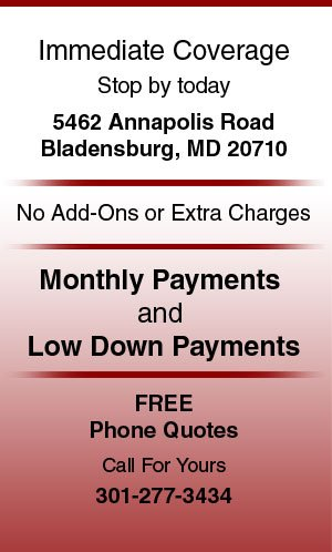 Commercial insurance - Bladensburg, MD - Parkway Insurance Agency