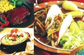Collaged image of mexican cuisine