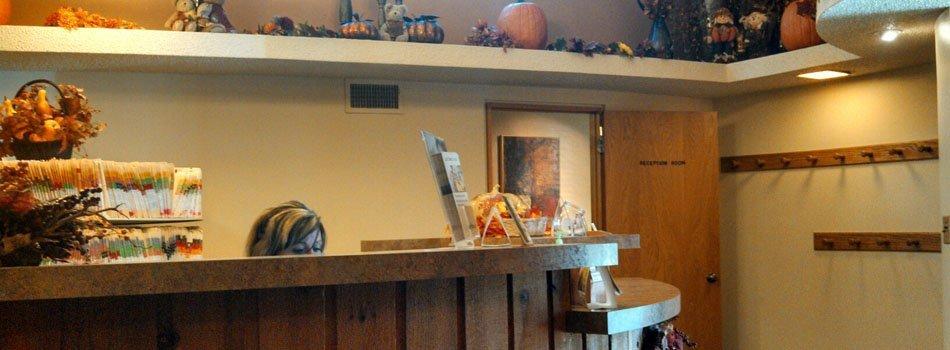 Colene Grecian DDS receptionist area