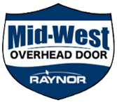 Mid-West Overhead Door - logo