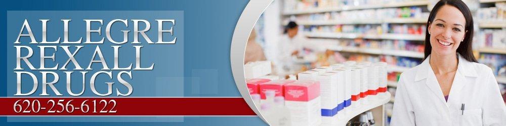 Pharmacies Lebo, KS - Allegre Rexall Drugs