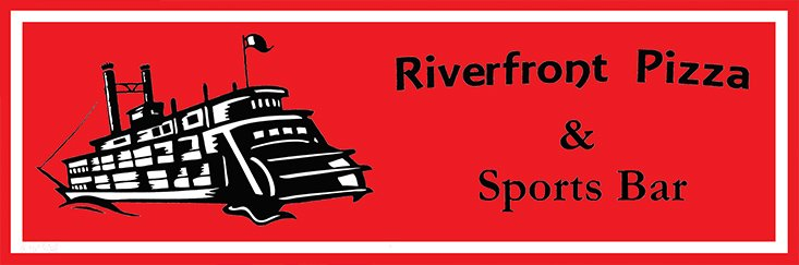 Riverfront Pizza & Sports Bar - logo
