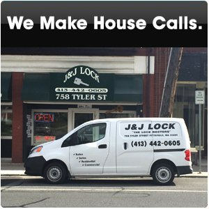 residential locksmith - Pittsfield, MA  - J & J Lock