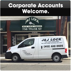 commercial locksmith - Pittsfield, MA  - J & J Lock