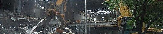 Commercial demolition services