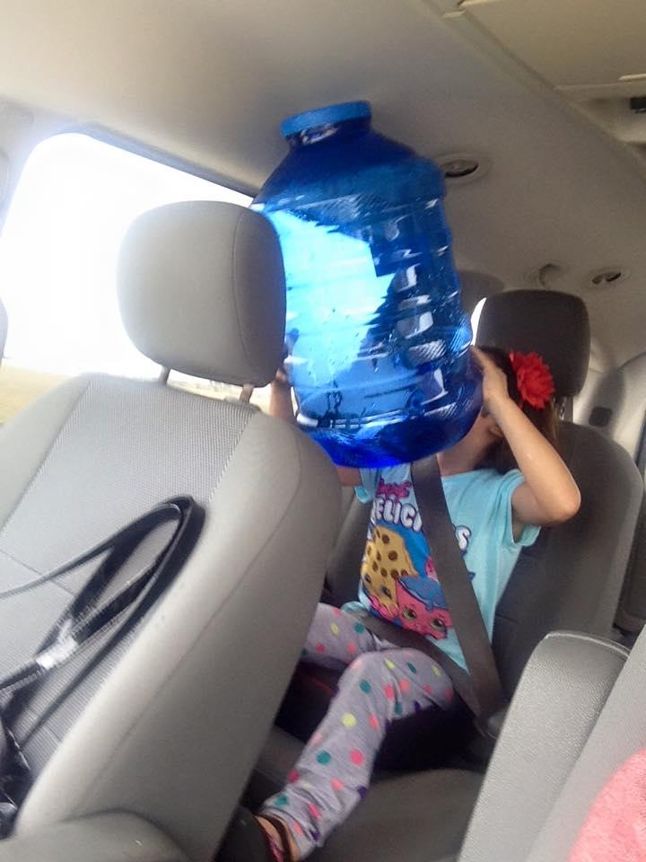 Alkaline water can
