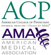 American College Physicians and American Medical Association Logo