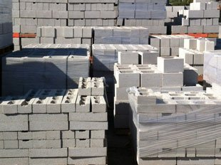 Concrete Block | Vista, CA | Sunrise Materials Inc. | 760-726-9984