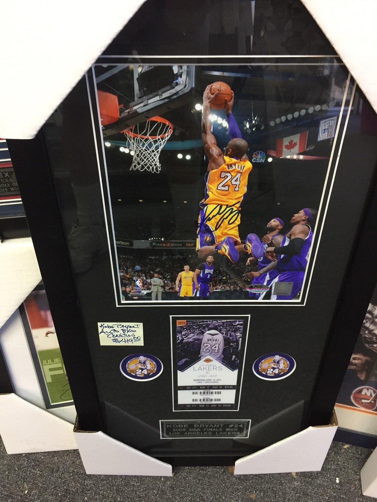 Kobe Bryant #24 Memorabilia