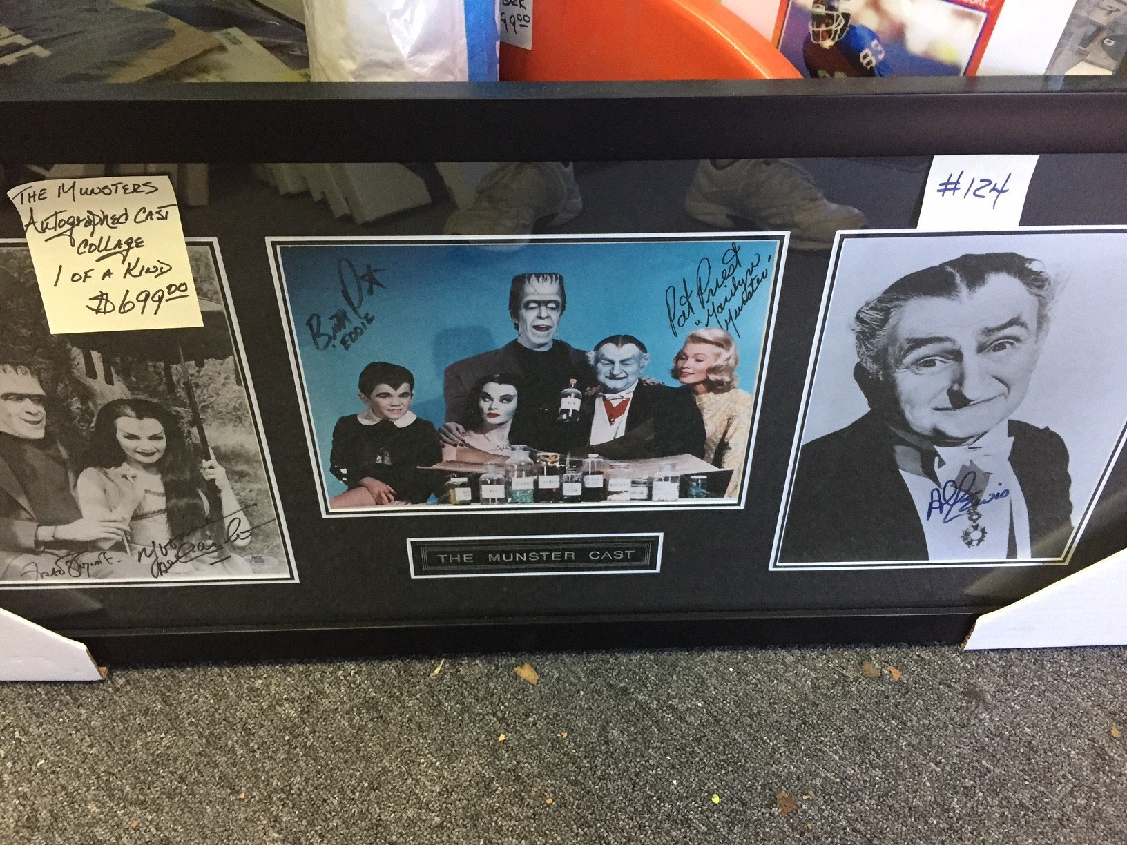 The Munster Cast Memorabilia