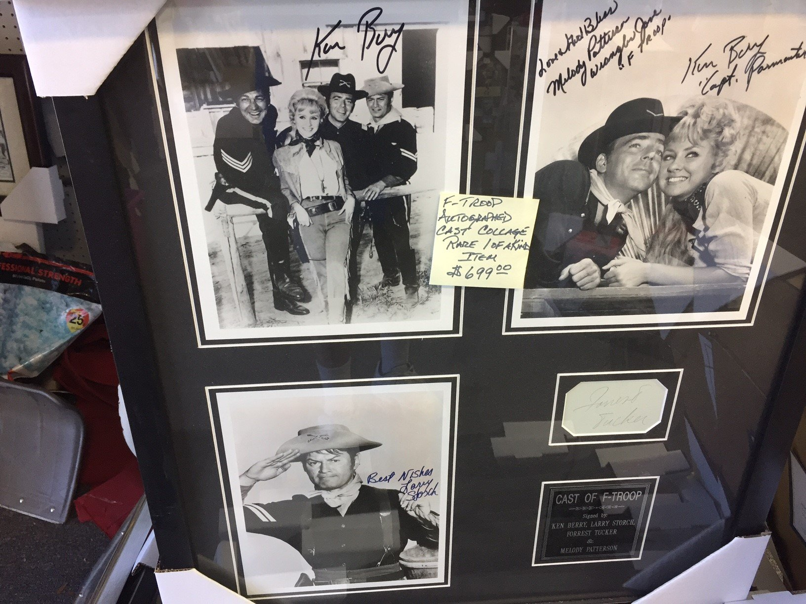Cast of F-Troop Memorabilia