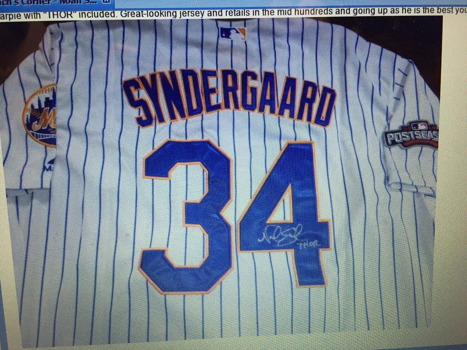 Noah Syndergaard #34