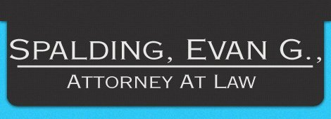 Attorney | Elizabethtown, KY | Spalding, Evan G., Attorney At Law | 270-723-6814