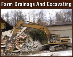 Demolition - Greenville, IA - Abel Drainage & Excavating, Inc.