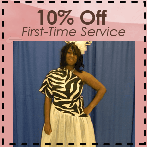 Dress alterations - Jackson, TN - Tricia Lee Designs - Dress Making - 10% Off First Time Service