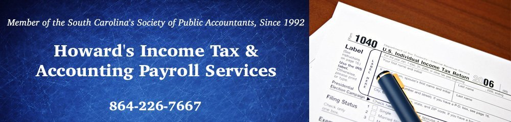 Notary Services - Anderson, SC - Howard's Income Tax & Accounting Payroll Services
