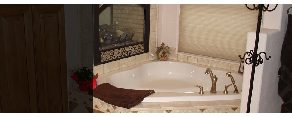 bathroom with faucet and brown towel