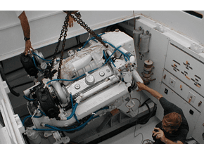 Installation of engine
