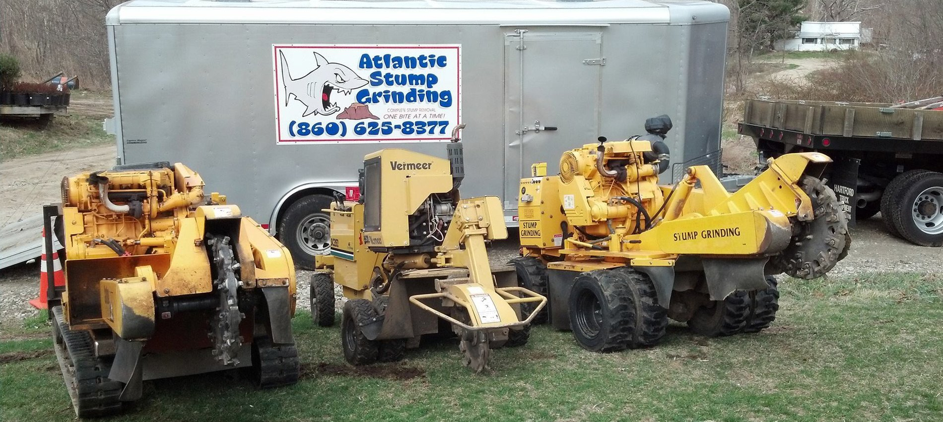Tree stump removal equipment