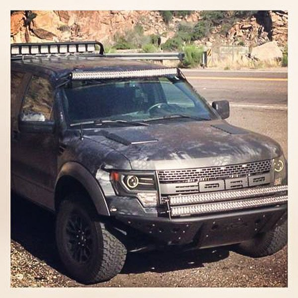 Raptor with light bar