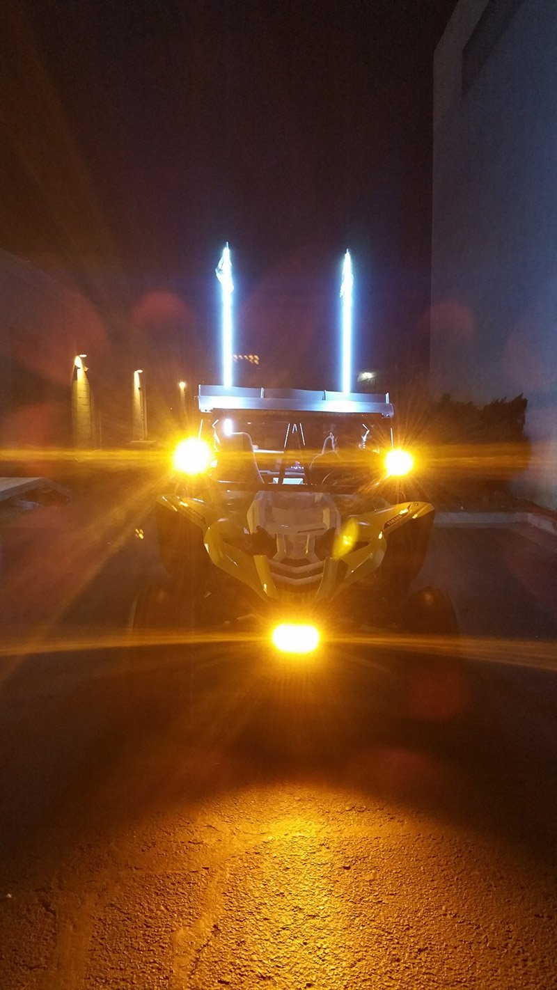 YXZ8 with HID