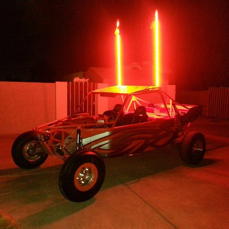 Red LED whips