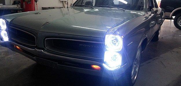 Beam headlights