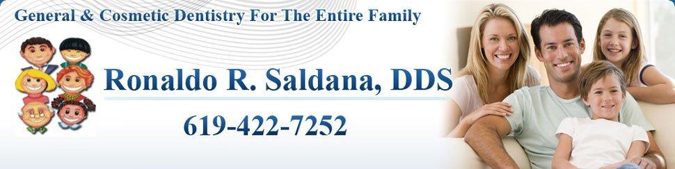 Dentist - Chula Vista, CA - Ronaldo R. Saldana, DDS