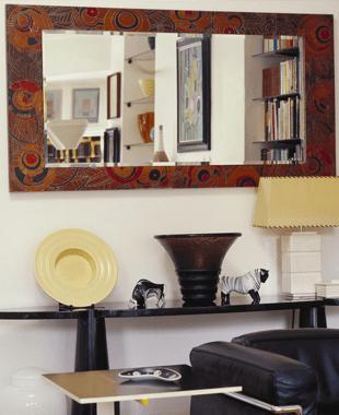 Designed mirror