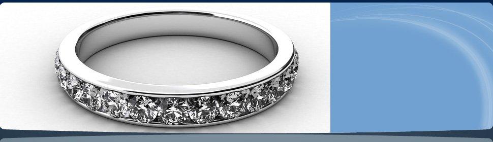 Wedding Ring - Tri Gem International Diamond Co