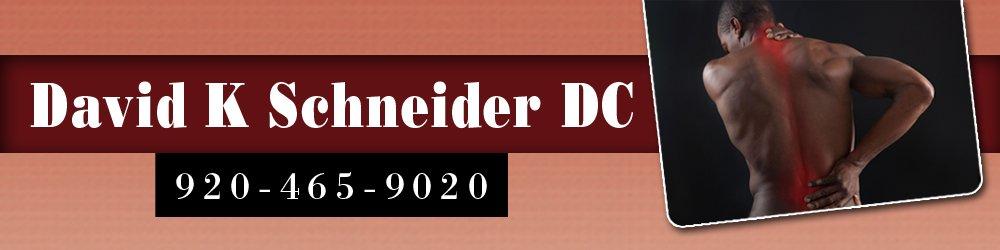 Chiropractor - Green Bay, WI - David K Schneider DC