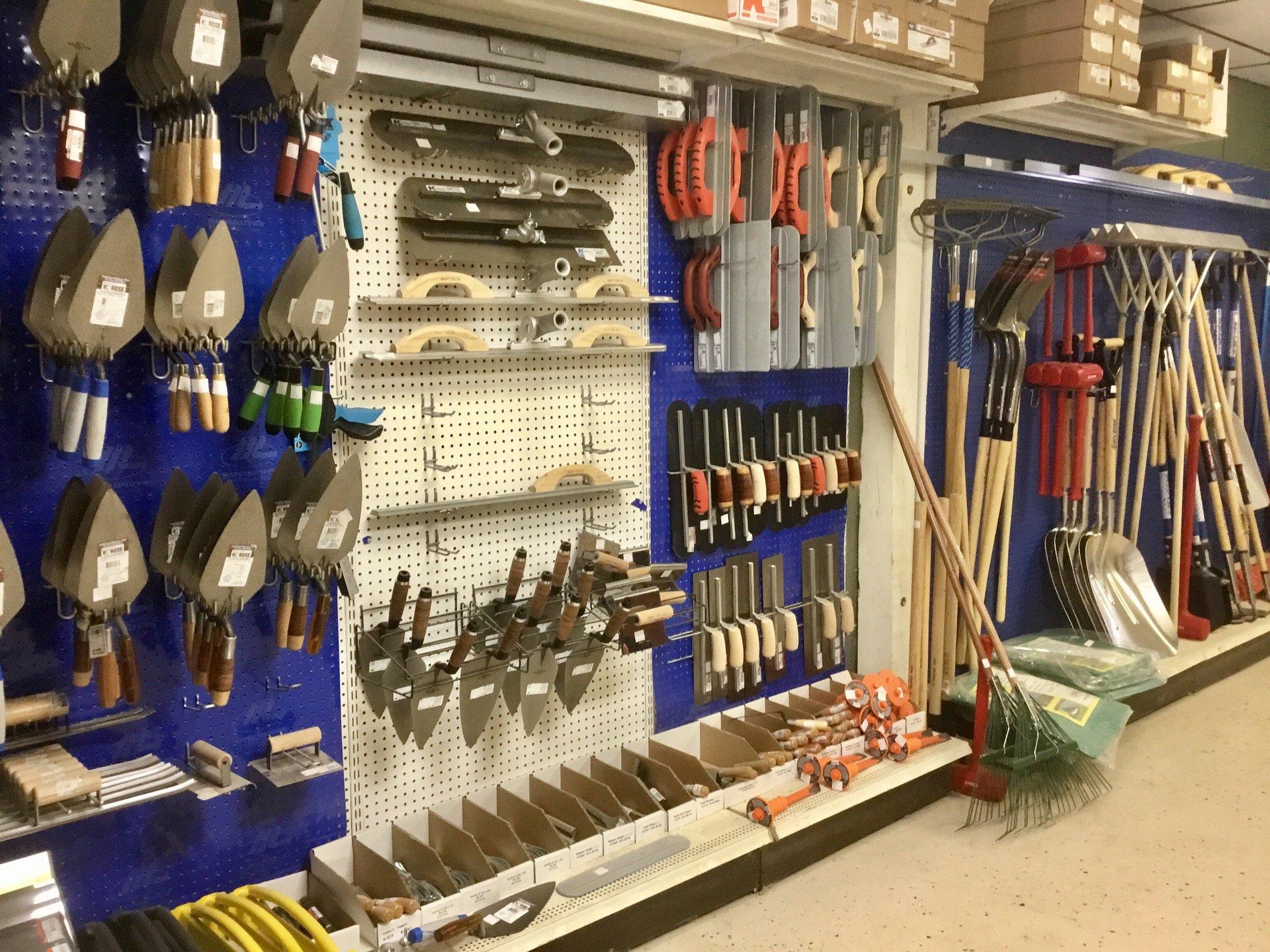 Masonry supplies