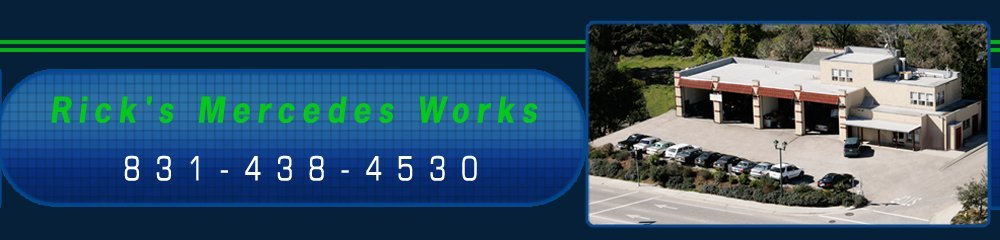 Auto Repair Center - Scotts Valley, CA - Rick's Mercedes Works
