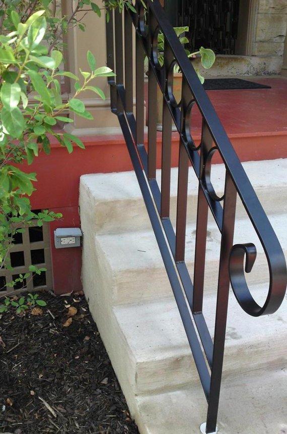 exterior iron railing